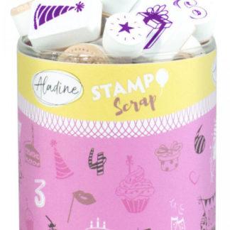 Stampo scrap - narozeniny - 34 ks