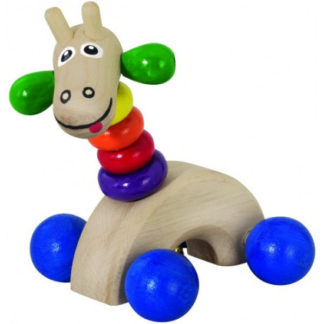 Žirafa s rolničkou