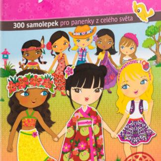 Šaty z celého světa - kniha samolepek