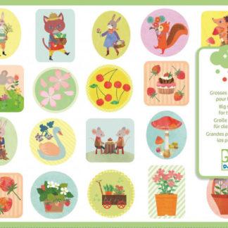 Samolepky pro nejmenší - Zahrada