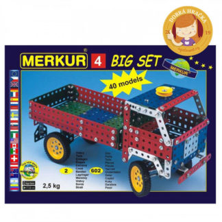 Merkur - Velký set 4 - 602 ks