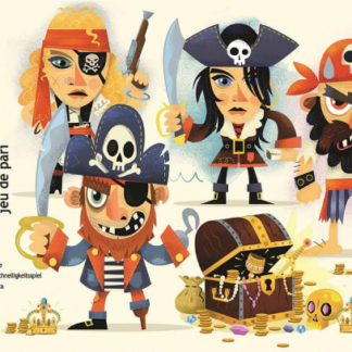 Pirátský poklad - karetní hra