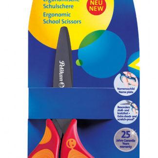 Dětské ergonomické nůžky Griffix s kulatou špičkou - pro praváky