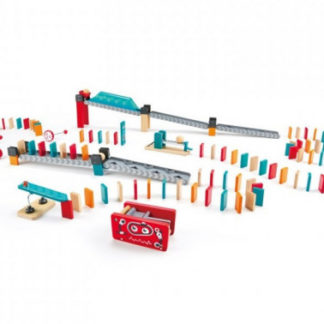 Dominová dráha Robot - 122 dílků