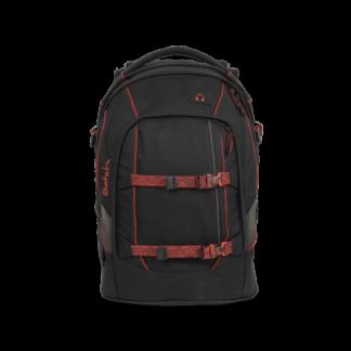 Studentský batoh Ergobag Satch - Black Volcano