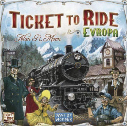 Ticket to Ride - Evropa