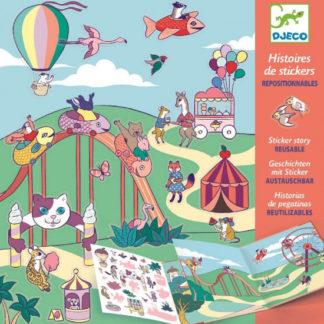 Lunapark - příběhové samolepky