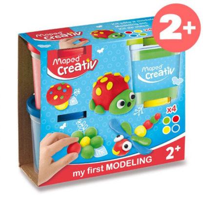 Modelovací hmota Maped Creativ - 4 barvy