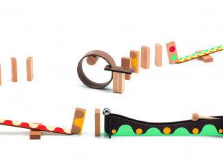 Dominová dráha Zig & Go - 25 ks