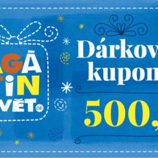 Agátin dárkový kupón: 500 Kč