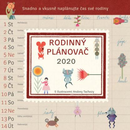 Rodinný plánovač 2020