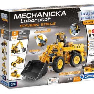 Mechanická laboratoř - Stavební stroje - 5 mega modelů - 450 dílků