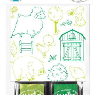 Vyprávěcí razítka StampoStory - Farma