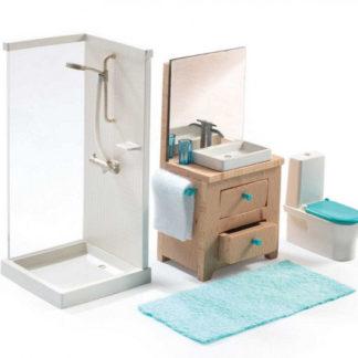 Domeček pro panenky - koupelna