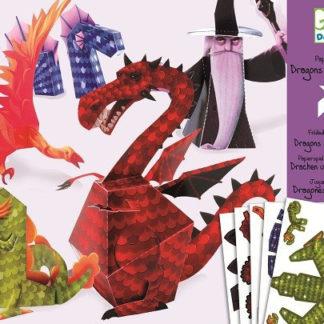 Origami Draci - papírová skládačka