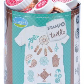 Stampo textil - Etno - 16 ks