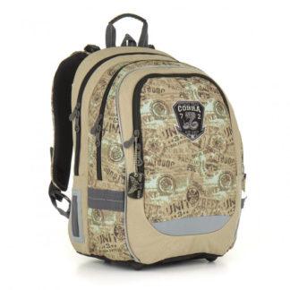 Školní batoh TOPGAL -  CHI 872 K - Brown