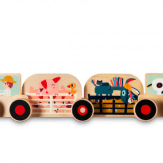Lilliputiens - Montážní sada - traktor