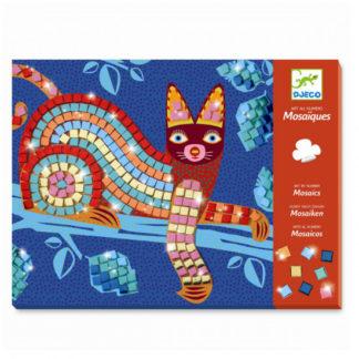 Mozaika - kočka a želva