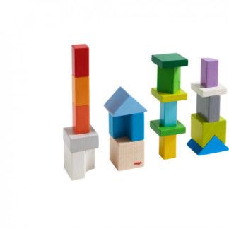 3D kreativní kostky - 19 ks