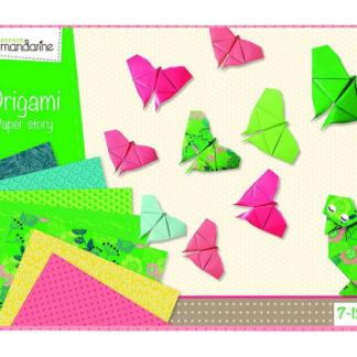 Sada na origami s motýlem