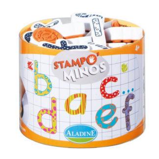 Dětská razítka StampoMinos - Abeceda malá