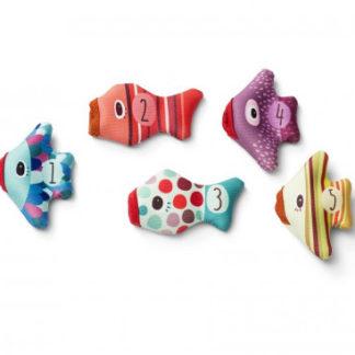 Lilliputiens - Rybičky - prstové loutky do vody