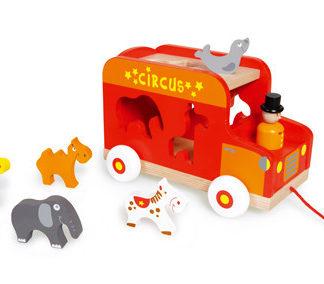 Vkládací náklaďák se zvířátky