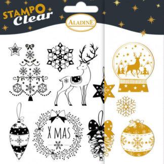 Stampo Clear - Vánoce v klasickém stylu