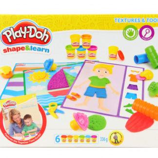 Play-Doh - Textury & Nástroje