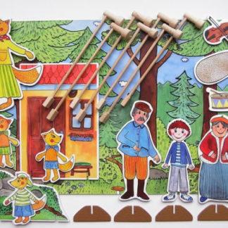 Marionetino - Loutková pohádka s tyčkami -  Budulínek