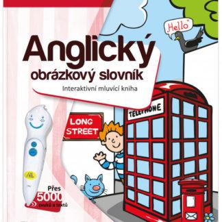 Kouzelné čtení - Kniha - Anglický obrázkový slovník