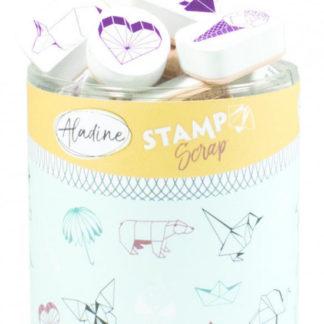 Stampo scrap - origami - 29 ks