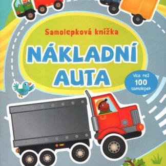 Nákladní auta -  samolepková knížka