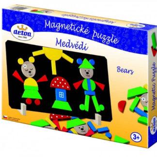 Magnetické puzzle - medvědi