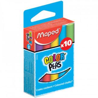 Barevné školní křídy Maped - 10ks