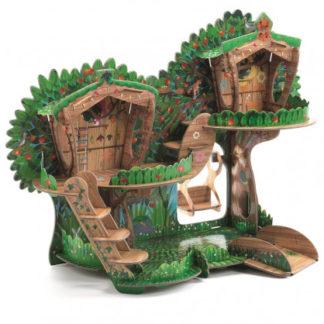 3D kartonová skládačka - Stromový dům