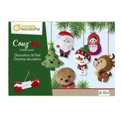 Kreativní sada Vánoční dekorace k ušití