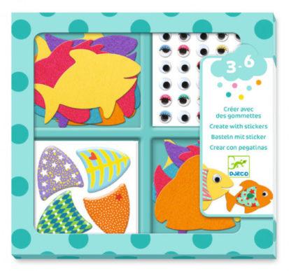 Hra se samolepkami - Máme rádi rybky