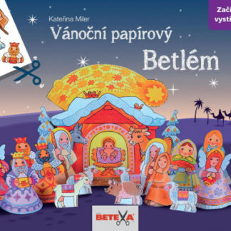 Betlém - vánoční vystřihovánka