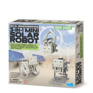 Mini solární robot 3v1