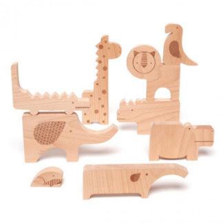Petitcollage zábavné puzzle - Safari