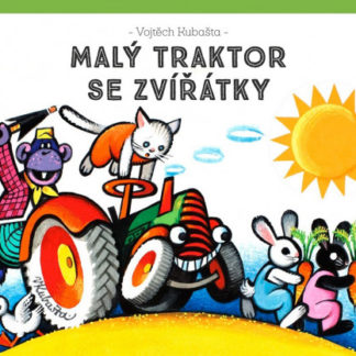 Malý traktor se zvířátky