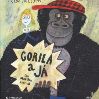 Gorila a já - audiokniha na CD - MP3