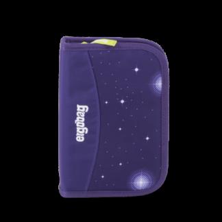 Školní penál Ergobag - Galaxy fialový 2019