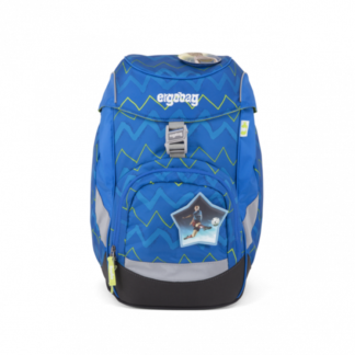 Školní batoh Ergobag prime – Modrý zig zag 2019