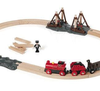 Brio - Vláčkodráha s parní lokomotivou