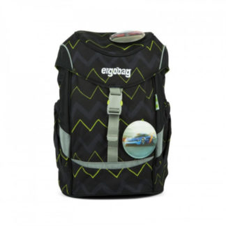 Dětský batoh Ergobag mini - černý zig zag