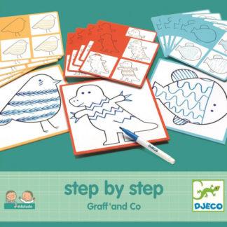 Malování krok za krokem - Grafomotorika