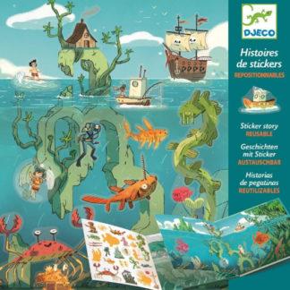 Dobrodružství na moři - příběhové samolepky